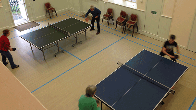 table tennis play